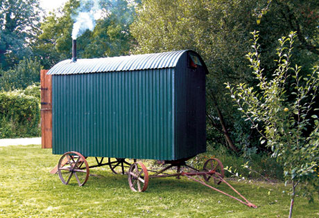 Green Shepherd Hut