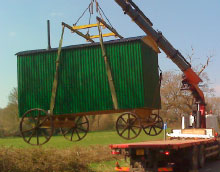 Shepherds Huts Delivery