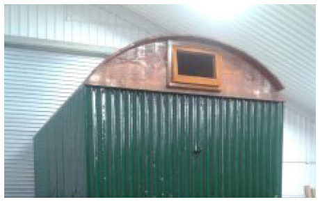 Shepherd Hut - in restoration
