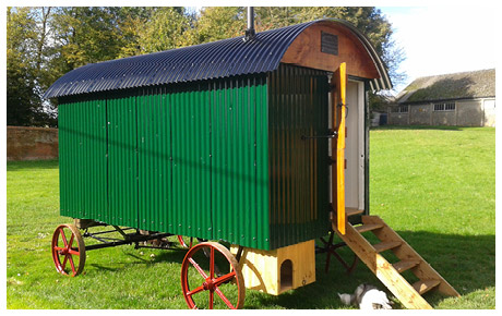 Restored Shepherd's Hut
