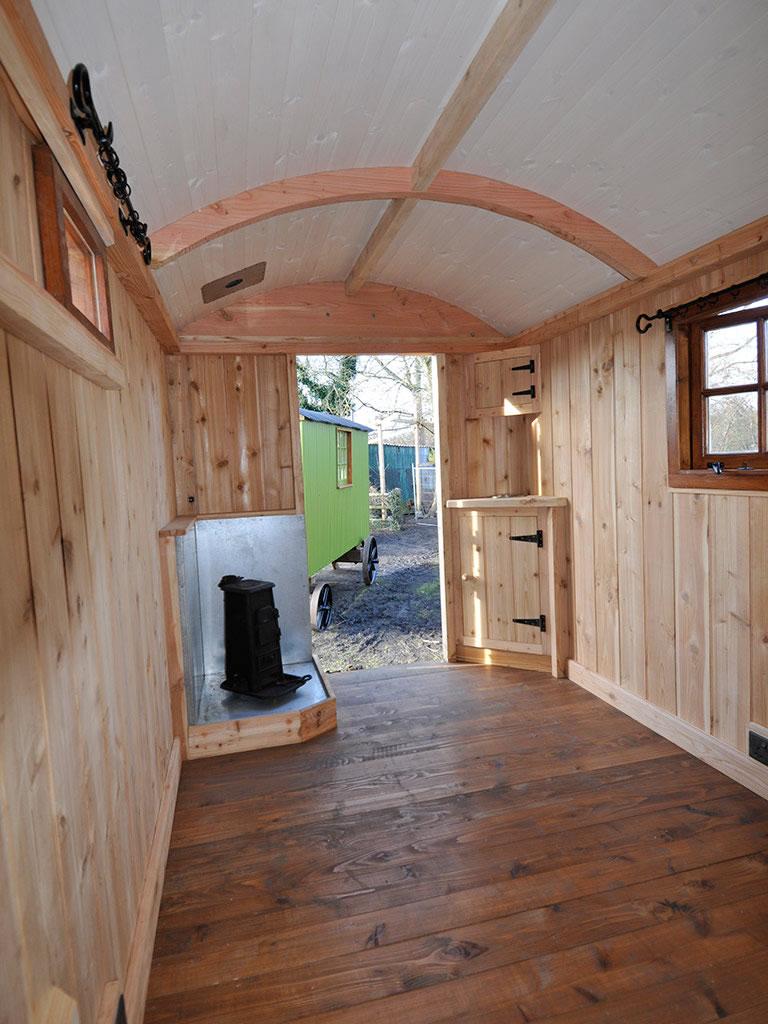 Gallery: Interiors. Heritage Shepherd Huts from Eddie ...